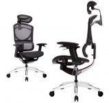 Židle UNO Černá Síťovina