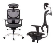Židle ZERO Černá Síťovina