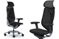 Židle OKAMURA SABRINA SMART Černý plastOKAMURA SABRINA Smart Black Mesh Chair