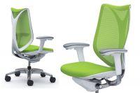 Židle OKAMURA SABRINA SMART Bílý plast Lime Green