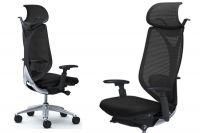 Židle SABRINA STANDARD Black Černý plast