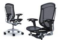 Židle CONTESSA SECONDA Stříbrný rám Sedák Černá Síťovina