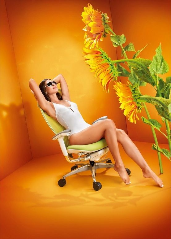 Židle SABRINA SMART Mango Yellow