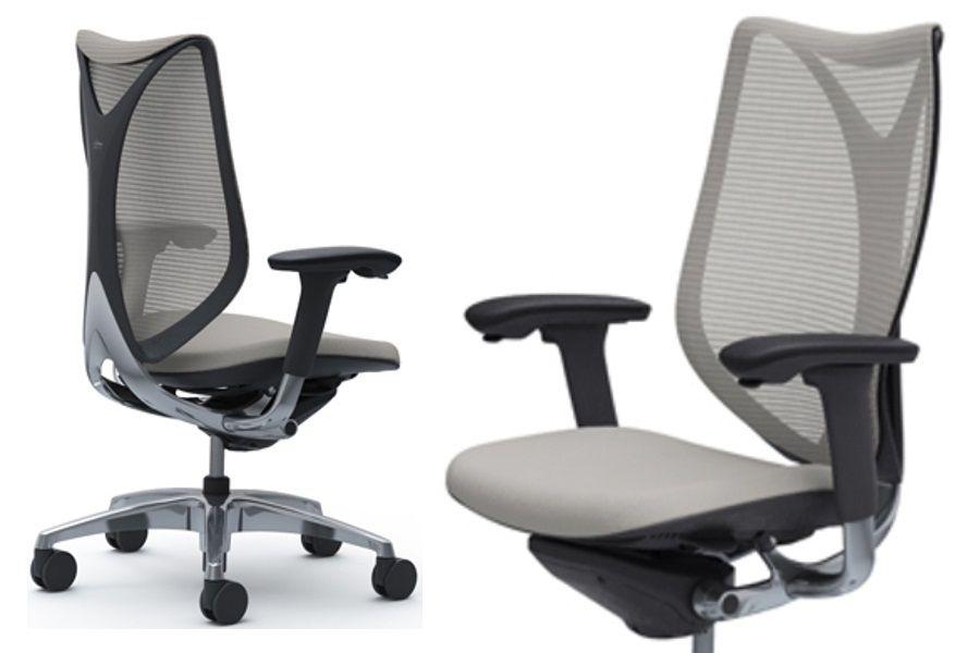 Židle OKAMURA SABRINA SMART Černý plast Light Grey
