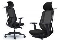 Židle SYLPHY Černá Síť Černá
