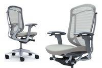 Židle CONTESSA 2 Plast šedý Sedak Světle šedá Látka