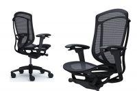 Židle CONTESSA 2 Černý rám Sedák černá Síťovina