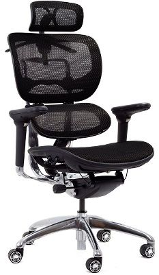 ERREVO DUE Ergonomic Chair with Lumbar Support
